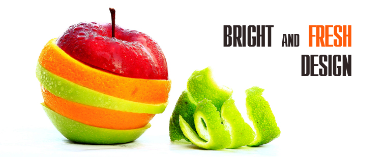 Bright and fresh design